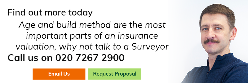 Age and build method are the most important parts of an insurance valuation, why not talk to a surveyor today