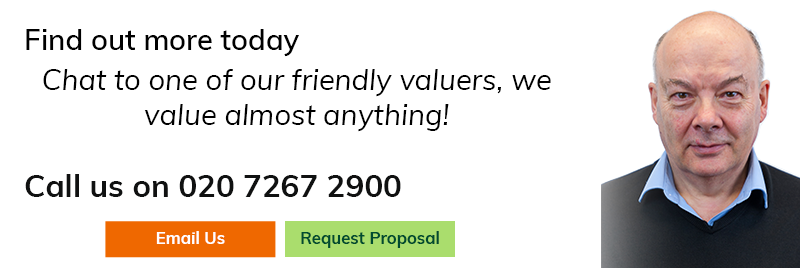 Chat to one of our friendly valuers, we value almost anything