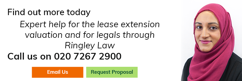 Expert help for the lease extension valuation and for legals through ringley law