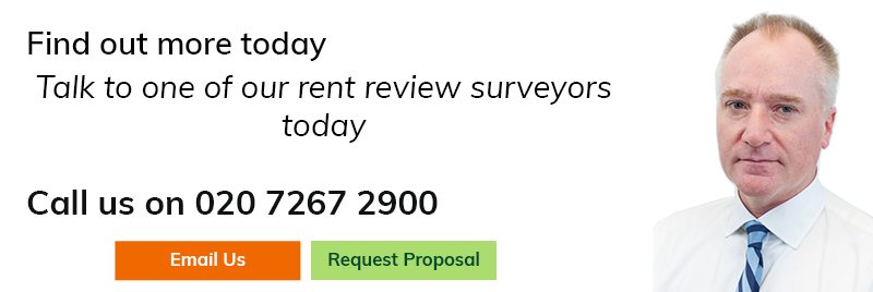 Talk to one of our rent review surveyors today