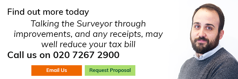 Talking the surveyor through improvements, and any receipts, may well reduce your tax bill
